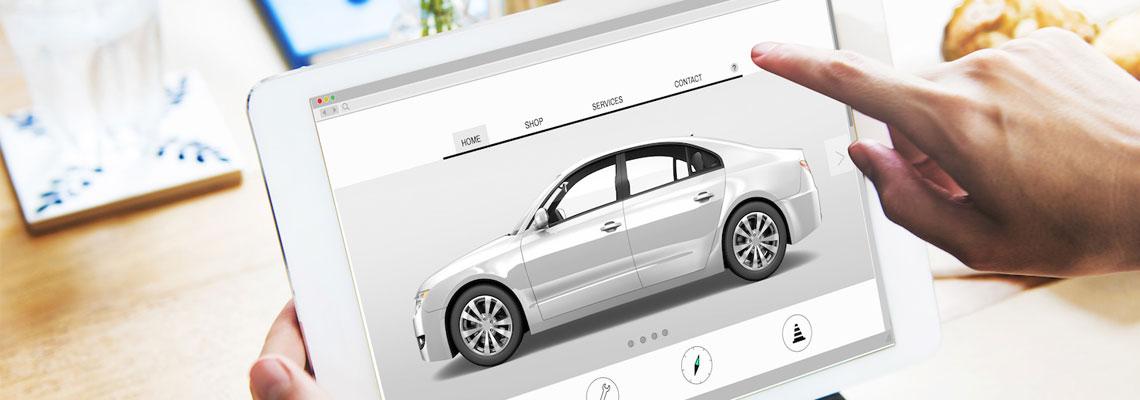 Annonces de véhicules d'occasion sur internet